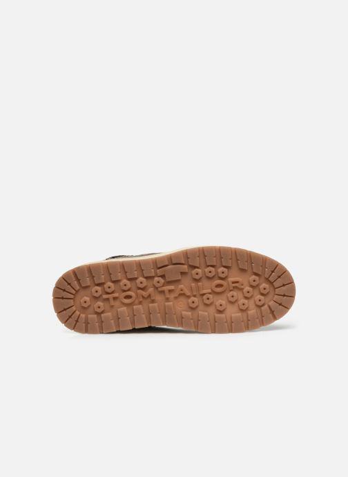 Sneaker Tom Tailor Monk braun ansicht von oben
