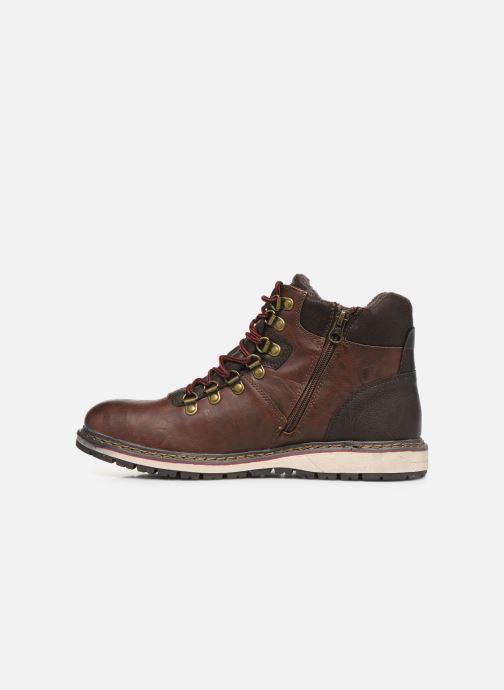 Stiefeletten & Boots Tom Tailor Nut braun ansicht von vorne