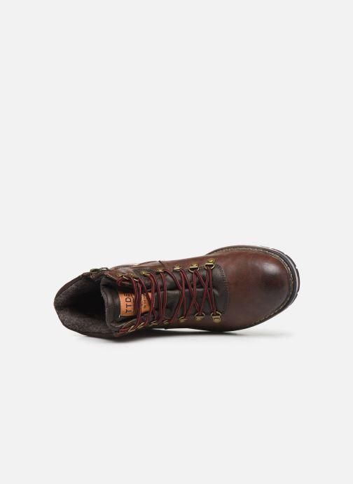 Stiefeletten & Boots Tom Tailor Nut braun ansicht von links