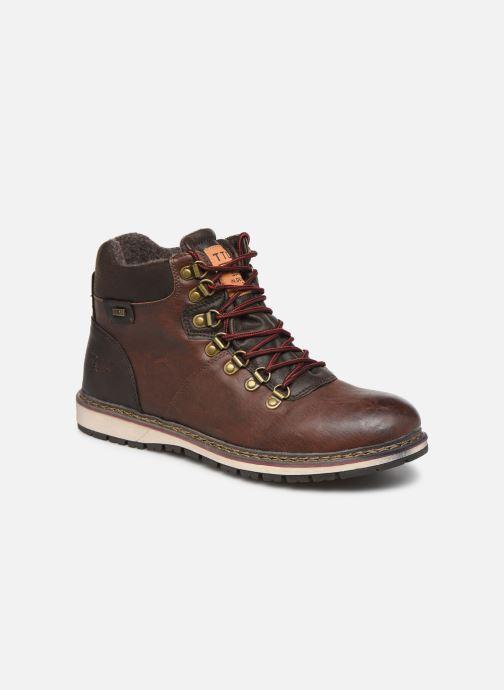 Bottines et boots Tom Tailor Nut Marron vue détail/paire
