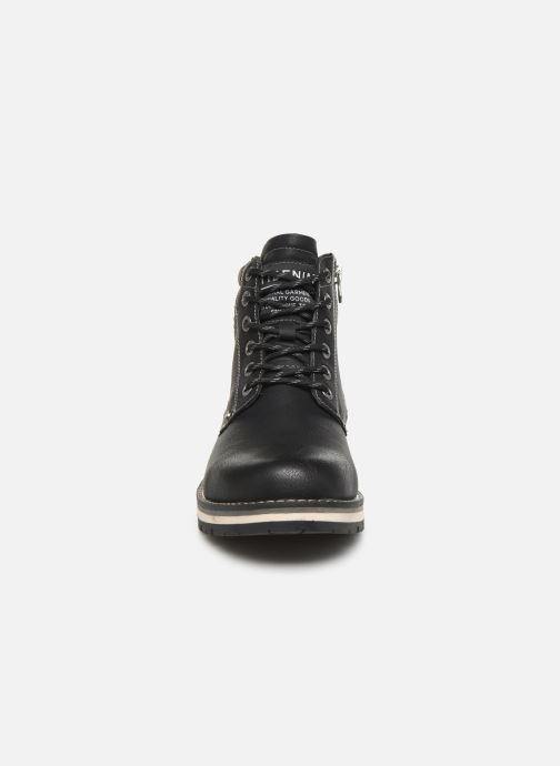 Stiefeletten & Boots Tom Tailor Nils schwarz schuhe getragen