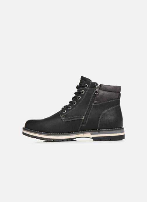 Stiefeletten & Boots Tom Tailor Nils schwarz ansicht von vorne