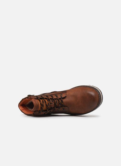 Stiefeletten & Boots Tom Tailor Nils braun ansicht von links