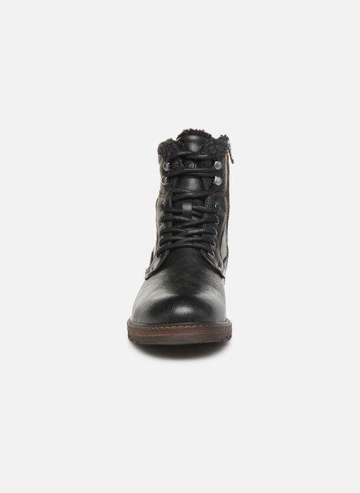 Bottines et boots Tom Tailor Greg Noir vue portées chaussures