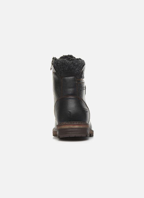 Bottines et boots Tom Tailor Greg Noir vue droite