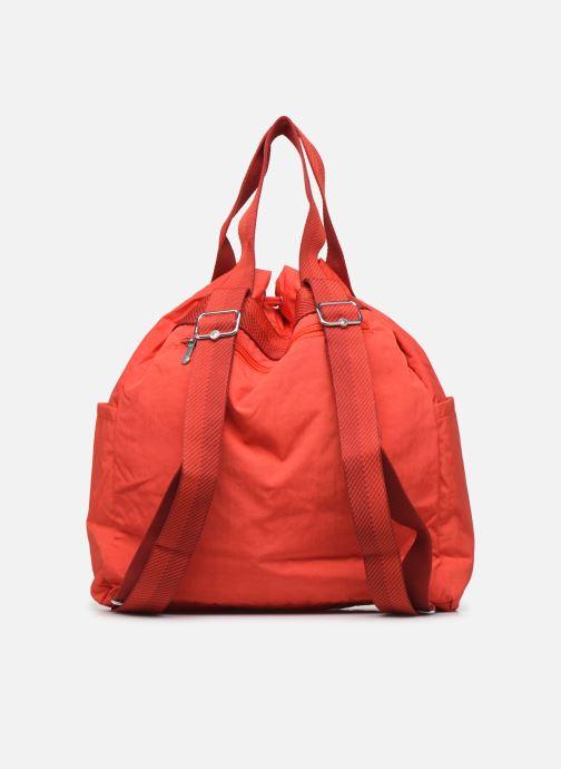 Bolsos de mano Kipling Art Backpack M Rojo vista de frente