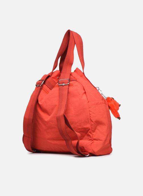 Bolsos de mano Kipling Art Backpack M Rojo vista lateral derecha