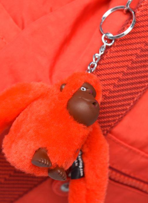 Bolsos de mano Kipling Art Backpack M Rojo vista lateral izquierda