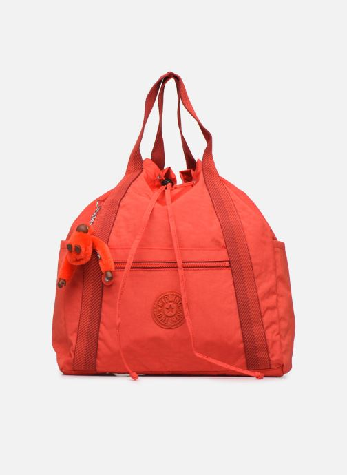 Bolsos de mano Kipling Art Backpack M Rojo vista de detalle / par