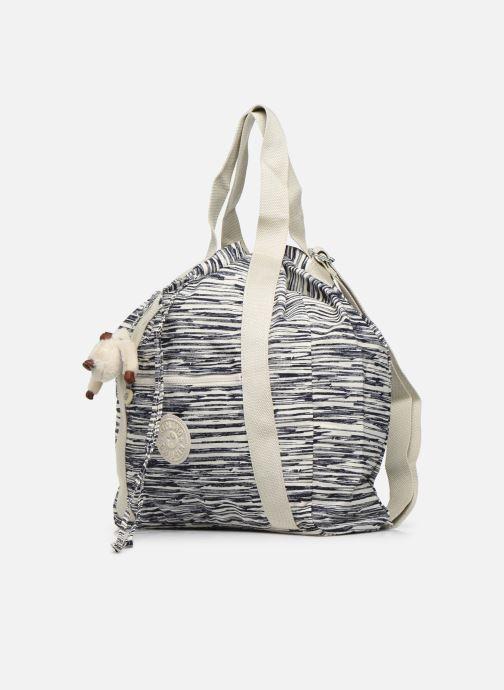 Sacs à main kipling Art Backpack M Blanc vue portées chaussures
