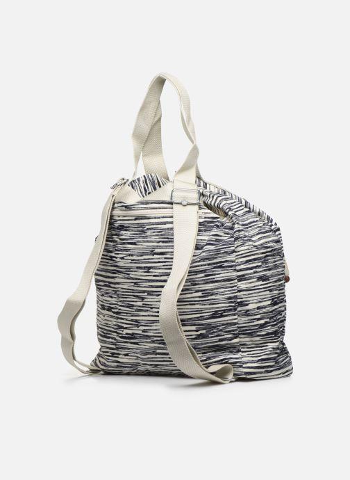 Sacs à main kipling Art Backpack M Blanc vue droite