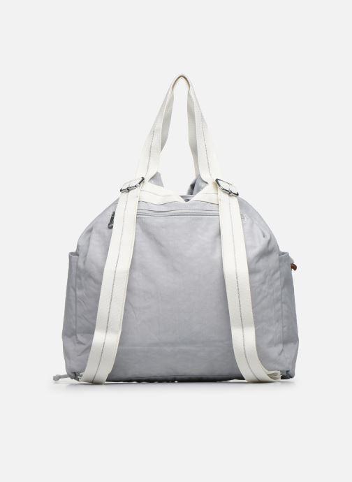Bolsos de mano Kipling Art Backpack M Gris vista de frente