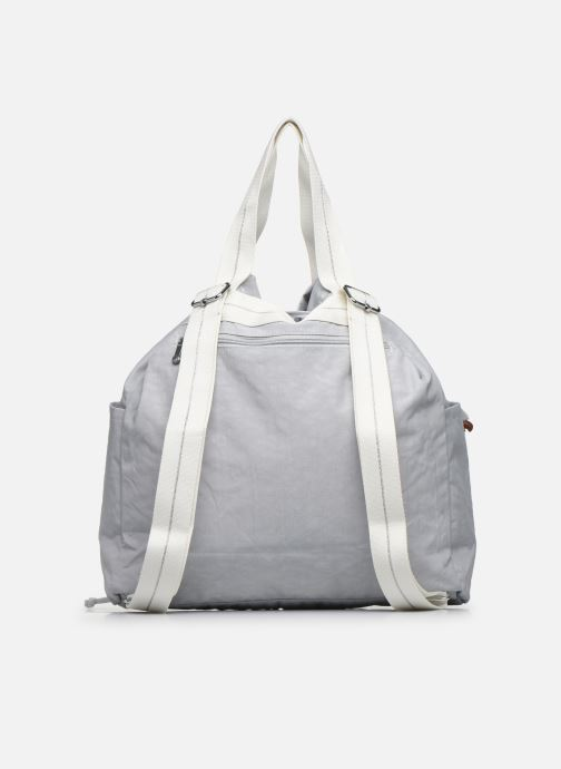 Bolsos de mano Kipling Art Backpack M Gris vista de frente