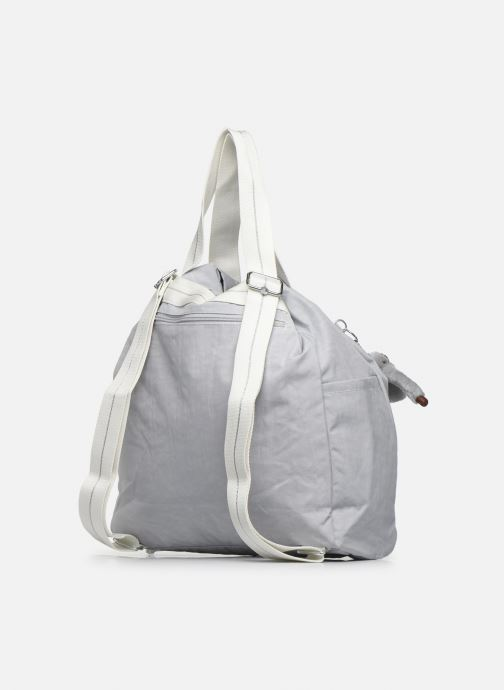 Sacs à main kipling Art Backpack M Gris vue droite