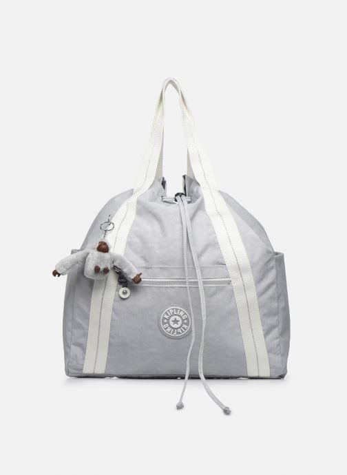 Bolsos de mano Kipling Art Backpack M Gris vista de detalle / par