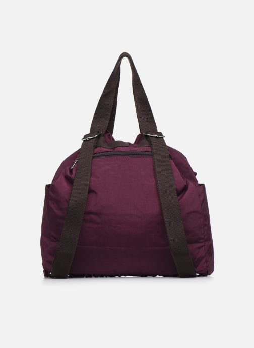 Sacs à main kipling Art Backpack M Bordeaux vue face