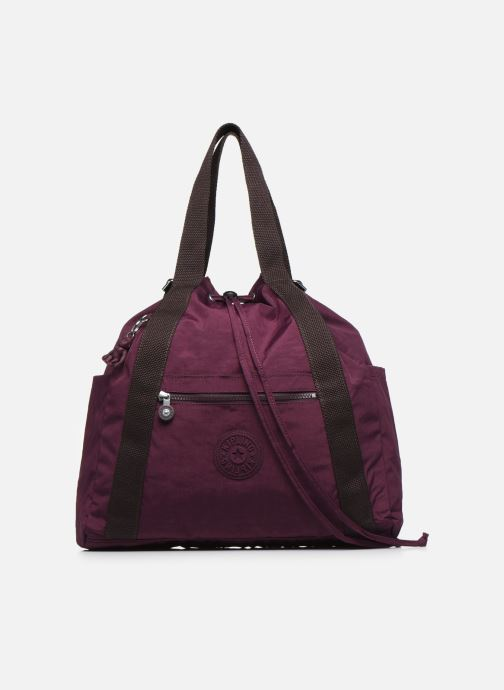 Sacs à main kipling Art Backpack M Bordeaux vue détail/paire