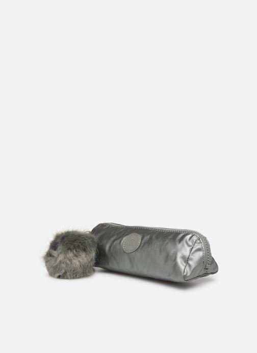 Petite Maroquinerie kipling Brush Pouch Argent vue portées chaussures