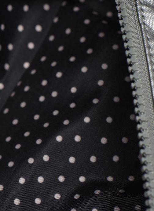 Kleine lederwaren kipling Brush Pouch Zilver achterkant