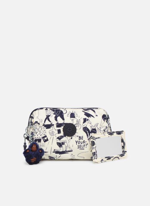 Portemonnaies & Clutches kipling Inami M weiß ansicht von links