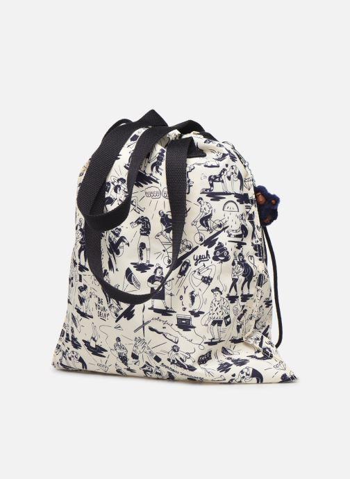 Handtaschen kipling New Hiphurray weiß ansicht von rechts