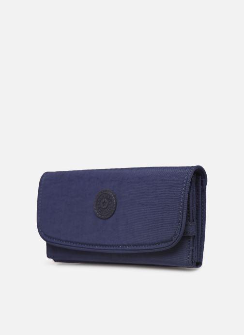 Petite Maroquinerie kipling Supermoney Bleu vue portées chaussures