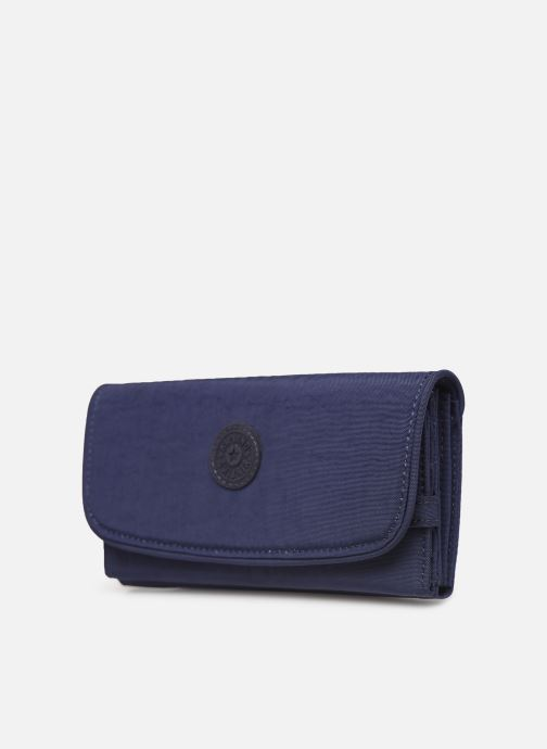 Kleine lederwaren Kipling Supermoney Blauw model