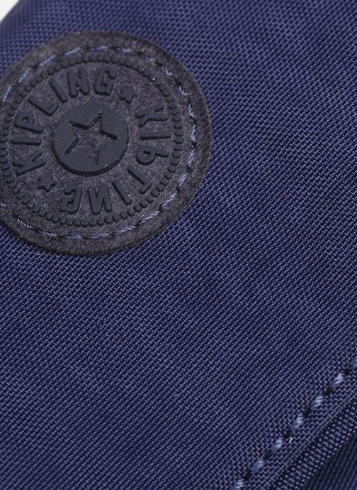 Petite Maroquinerie kipling Supermoney Bleu vue gauche