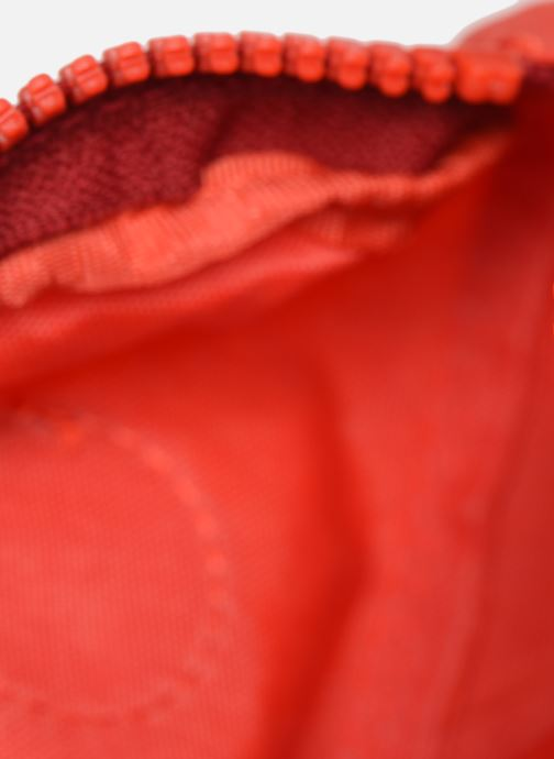 Kleine lederwaren kipling Trix Rood achterkant