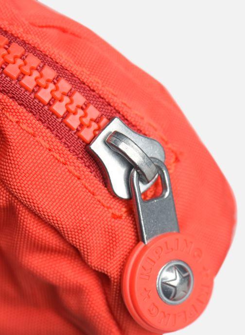 Kleine lederwaren kipling Trix Rood links