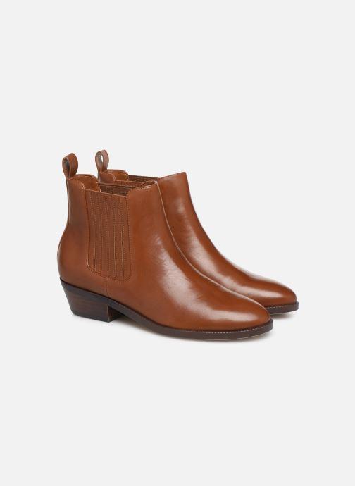 Bottines et boots Lauren Ralph Lauren Ericka Boots  Marron vue 3/4