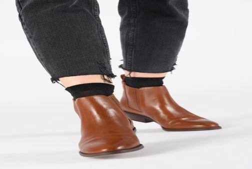 Bottines et boots Lauren Ralph Lauren Ericka Boots  Marron vue bas / vue portée sac