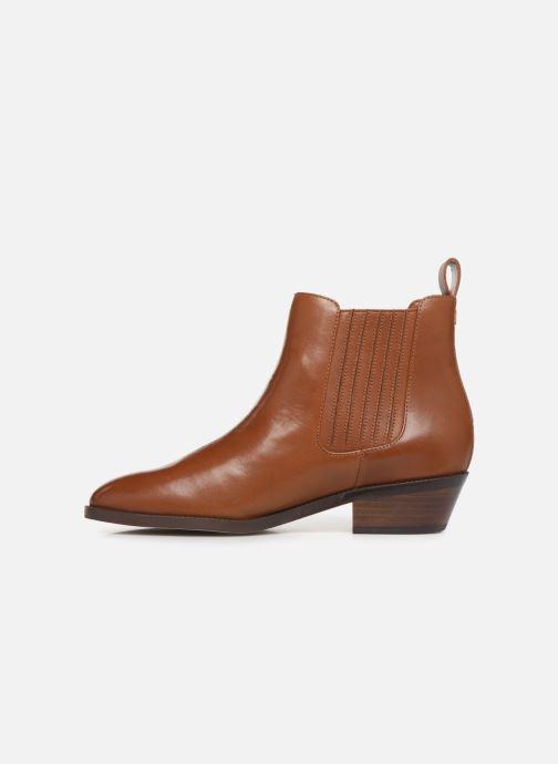 Boots en enkellaarsjes Lauren Ralph Lauren Ericka Boots  Bruin voorkant