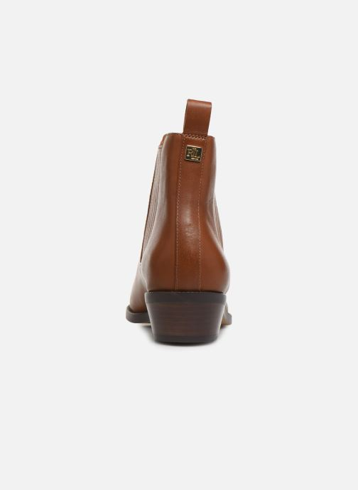 Bottines et boots Lauren Ralph Lauren Ericka Boots  Marron vue droite