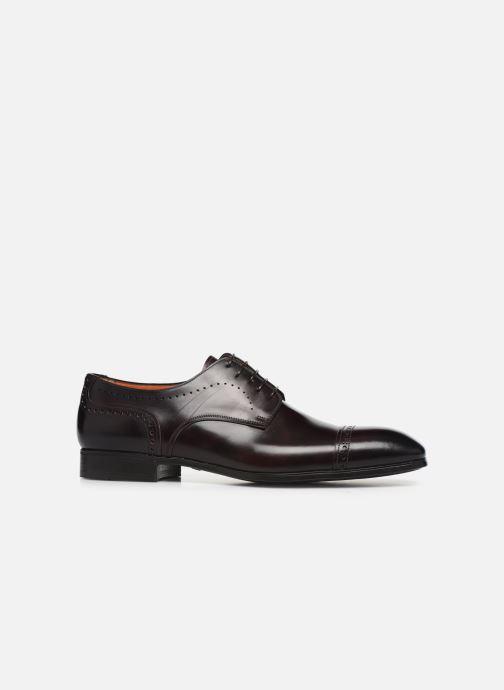 Chaussures à lacets Santoni Simon 16318 Bordeaux vue derrière