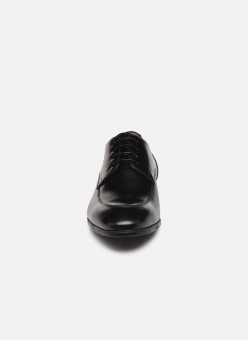 Chaussures à lacets Santoni Simon 16804 Noir vue portées chaussures