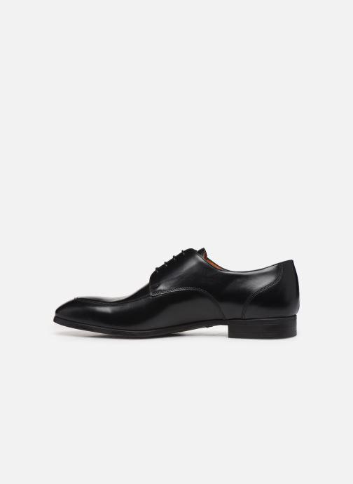 Chaussures à lacets Santoni Simon 16804 Noir vue face