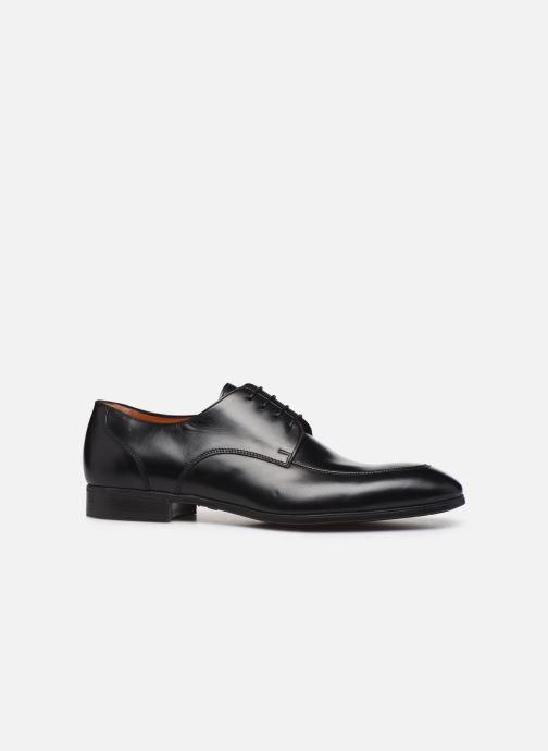 Chaussures à lacets Santoni Simon 16804 Noir vue derrière