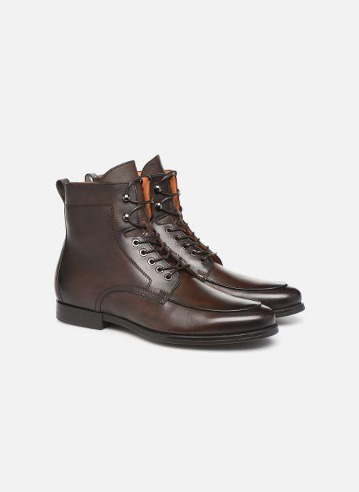 Bottines et boots Santoni Mars 16780 Marron vue 3/4