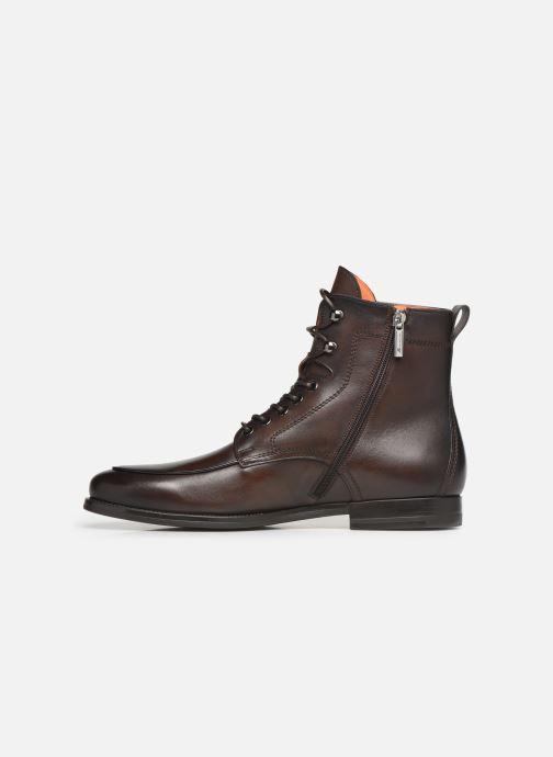 Bottines et boots Santoni Mars 16780 Marron vue face