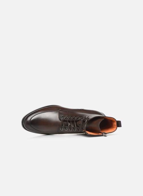 Bottines et boots Santoni Mars 16780 Marron vue gauche