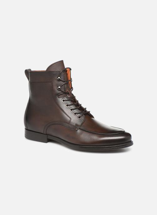 Bottines et boots Santoni Mars 16780 Marron vue détail/paire
