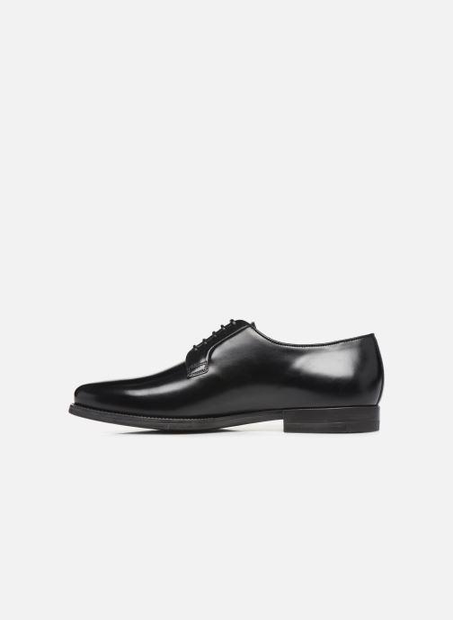 Zapatos con cordones Santoni Mars 15753 Negro vista de frente