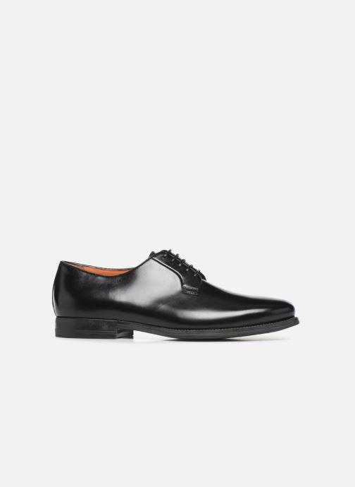 Zapatos con cordones Santoni Mars 15753 Negro vistra trasera