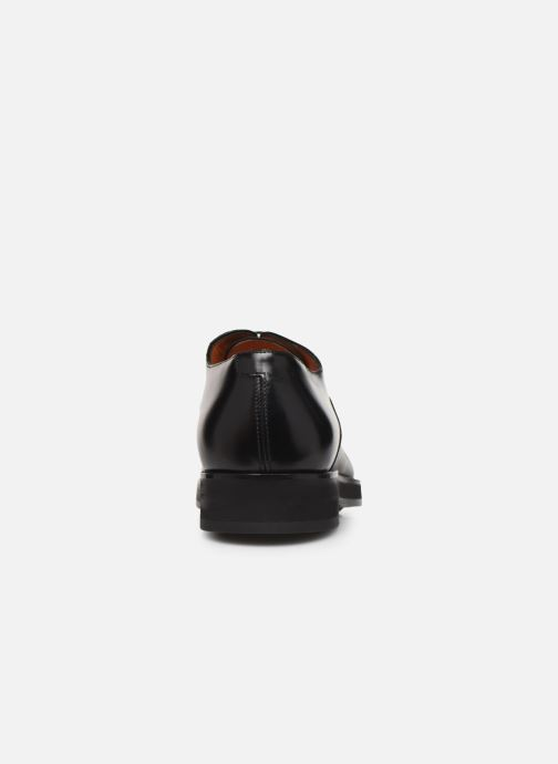 Zapatos con cordones Santoni Levante 16359 Negro vista lateral derecha