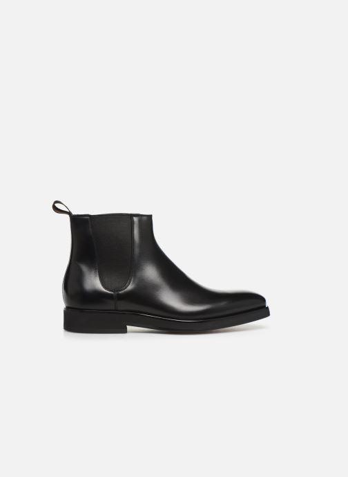 Bottines et boots Santoni Levante 16361 Noir vue derrière