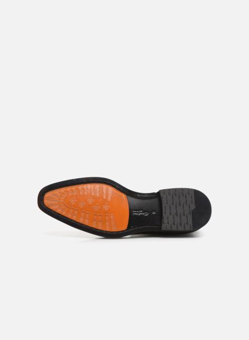 Bottines et boots Santoni Levante 16361 Noir vue haut