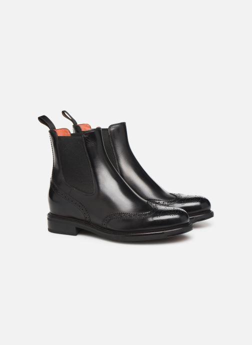 Boots en enkellaarsjes Santoni KW2 58153 Zwart 3/4'