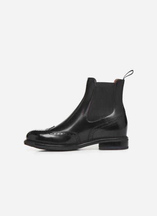 Boots en enkellaarsjes Santoni KW2 58153 Zwart voorkant