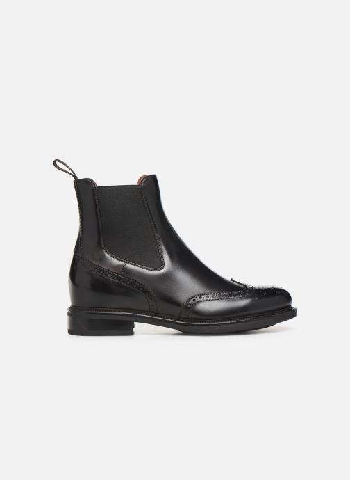 Boots en enkellaarsjes Santoni KW2 58153 Zwart achterkant
